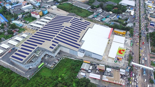 Construct Roof-Top Solar System on Stores of Big C