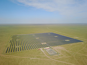 Sharp Builds Mega Solar Plant in Zamyn Uud, Mongolia
