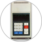 Introduction of the world's first electronic calculator incorporating LSIs.