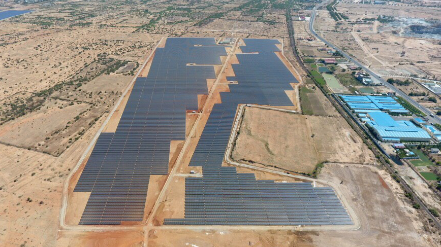 Sharp Builds Mega Solar Power Plant in Ninh Thuan Province, Vietnam
