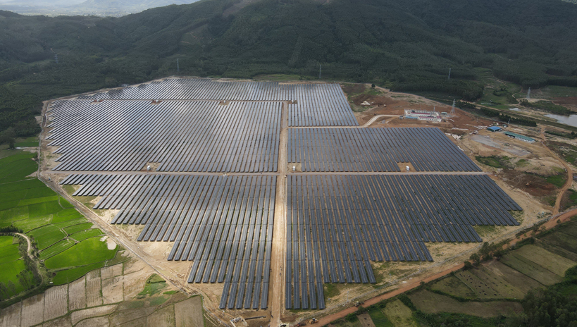 Sharp Builds Mega Solar Power Plant in Binh Dinh Province, Vietnam
