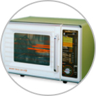 Microwave oven equipped with cooking sensor