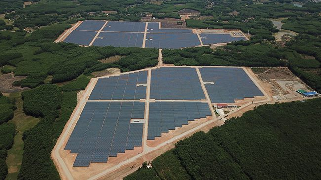 Mega Solar Power Plant in Vietnam