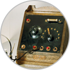 Assembly and marketing of Japan's first crystal radio sets. Radio broadcasting begins in Japan.