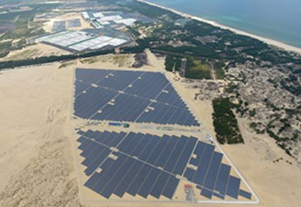 Vietnam's First Mega Solar Power Plant Starts Operation